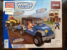 New Mega Bloks World Builders Jeep Forest Expedition Set 97806 BNIB