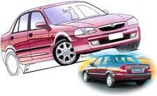 Mazda Protege 323 1998-2003 Sedan REAR BOOT LIP SPOILER