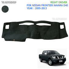 RH Right Dash Mat Dashmat Carpet Cover For Nissan Navara Frontier D40 2005 2014