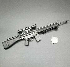 "1:6 Ultimate Soldier HK G3 Sniper Rifle 12"" GI Joe Dragon BBI SWAT Police GSG9"