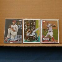 2020 Topps Rookie Retro RC Medallion 3 card LOT Strasburg Giancarlo Ohtani PSA ?
