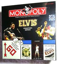 Sealed Monopoly Elvis Presley Collectors Edition USAOpoly 2003 New Collectable