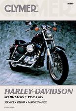 CLYMER Repair Manual for Harley-Davidson Sportster 1959-1985