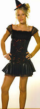 Witch Costume Girls Teens Juniors Small Size 0 - 1