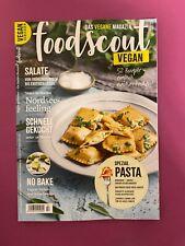foodscout Das vegane Magazin 02 April - Juni 2021.. Spezial Pasta .. Neu!!