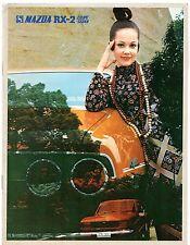 Mazda RX-2 1971-73 UK Market Sales Brochure Saloon Coupe