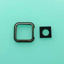 Rear Back Camera Glass Lens Holder With Sticker Fr LG F180 E975 E971 E973 Black