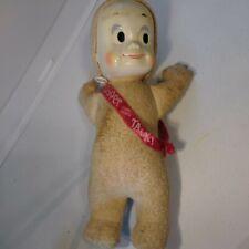 "Vintage Casper The Friendly Ghost Talking Pull String Doll, Mattel 1961, 15"""