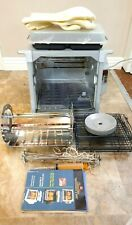 Ronco ST5000PLGEN Showtime Rotisserie Oven Platinum Edition with many extras