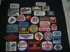 Company Advertising Vintage 1980's Patches Wholesale Lot of 32  Lot #1