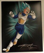 Chris Sabat Signed Autographed 11x14  Photo Dragon Ball Z Vegeta JSA COA 30
