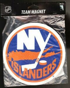 New York Islanders NHL Team Magnet by Forever Collectibles Icelanders NWT Hockey