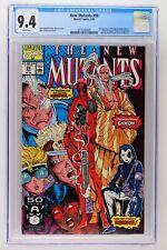 New Mutants #98 - Marvel 1991 CGC 9.4 1st Appearance of Deadpool & Domino!