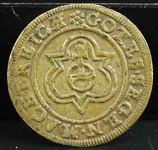 Jeton token de Nuremberg vers 1700 Rose / Orb Obv. Three crowns
