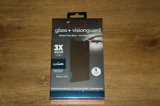 NEW ZAGG Invisible Shield Glass+ Visionguard Screen Protector for iPhone X & XS