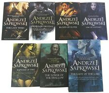 Andrzej Sapkowski 7 Book Set Collection (Witcher Series) RRP