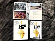 LIVE AID 1985 (DVD, 2004, 4-Disc Set) Concert July 13, 1985 Rare OOP Queen Bowie