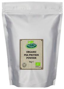 Organic Pea Protein Powder Certified Organic