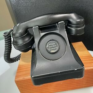 old phone vintage from hotel please answer promptly