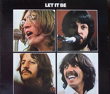 THE BEATLES      LET IT BE   STEREO     export issue  Apple PCS 7096