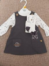 Winnie The Pooh Dress And Top First Size Newborn Baby White