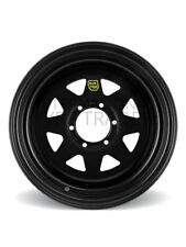 ROH Wheel 15X7 Trak 2 (Sunraysia) Black [For: Ford Courier]