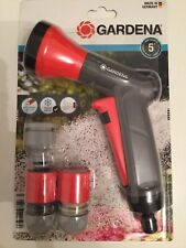 "Gardena Watering Classic Sprayers Hose Set - 18312-28 ½"" (13mm) 5/8"" (15mm) NEW"