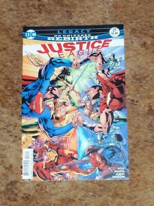 JUSTICE LEAGUE #27! DC UNIVERSE REBIRTH! SUPERMAN! AQUAMAN! FLASH!!