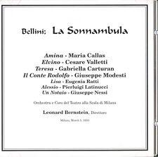 Bellini: La Sonnambula; Callas, Valletti, Bernstein, La Scala Milan, March 1955