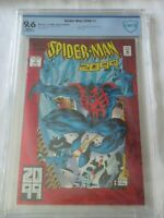 Spider-Man 2099 #1! CBCS 9.6 (not CGC)! Red Foil Cover Origin of Miguel O'Hara!
