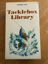 Tacklebox Library Outdoor Life Set Of 5 Book On Fishing Harper & Row