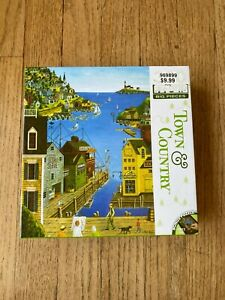 """MasterPieces A Walk On The Pier 300 Piece Puzzle 18"""" x 24"""" Big Pieces New Sealed"""