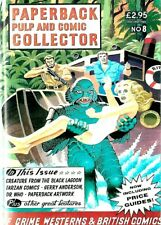 PAPERBACK PULP AND COMIC COLLECTOR MAGAZINE #8  EX CONDITION