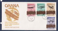 vol 10/ Ghana  75è anniversaire du 1er  avion  1978