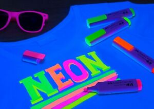 Fabric Markers - Set of 4 Faber-Castell - NEON Textile pens