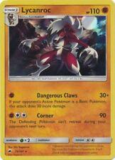x1 Lycanroc - 75/147 - Holo Rare Pokemon SM3 Burning Shadows M/NM