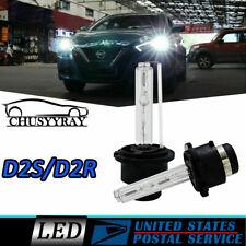 D2S D2R LED Headlight Bulbs 60W 6000LM for Acura TSX 2004-2014 HID Kit White
