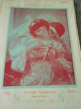 Pierrot Vainqueur d'après tableau de Seignac Art Print