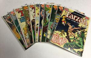 Tarzan 314 215 217 218 219 220 221 222 223 224 225 Vf- Very Fine- DC Comics
