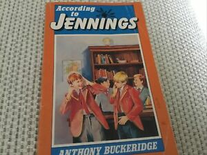 According to Jennings by Anthony Buckeridge (Paperback, 1991)