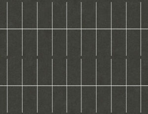 HO Scale Parking Lot Straight Model Train Scenery Sheets –5 Seamless 8.5x11