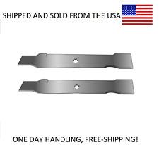 """FITS JOHN DEERE 42"""" Mower Deck Blades AM137333 GX22151 GY20850 AM137328 M154061"""