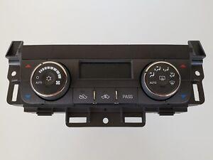 07-11 Buick Lucerne 15892086 Climate Control Panel Temperature Unit A/C Heater