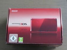 CONSOLE NINTENDO 3DS METALLIC RED EN BOITE