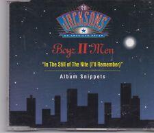Boyz II Men-In The Still Of The Nite cd maxi single