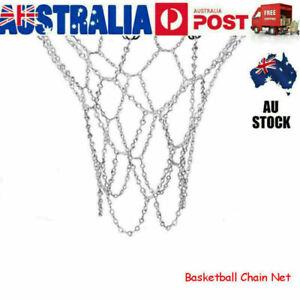 Heavy Duty Basketball Ring Metal Chain Net Official Size Rims Hoop 12 Loop AUS