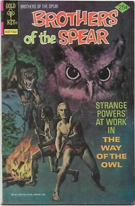 Brothers of the Spear #17 - Fine - Gold Key - The Way of the Owl