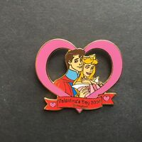 DLR - Valentine Heart Aurora & Phillip Limited Edition 1500 Disney Pin 28225