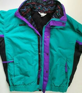 Men`s Columbia Bugaboo Ski Jacket 3 in 1 Jacket Size L Detachable Fleece Jacket