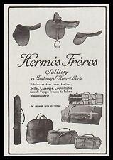 PUBLICITE  HERMES SELLIER  MODE FASHION ART DECO    AD  1924 - 12i
